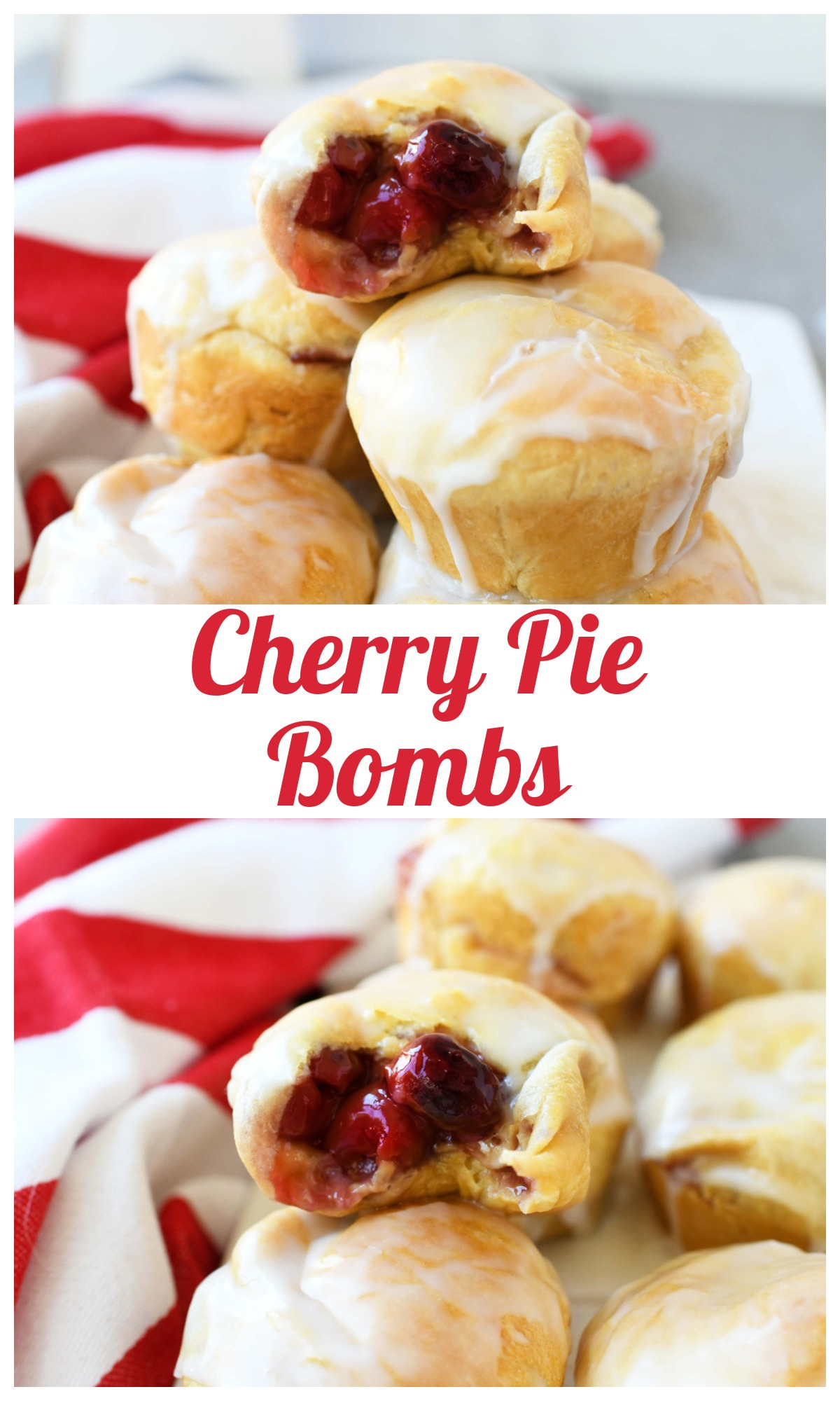 Easy & Tasty Cherry Pie Bombs