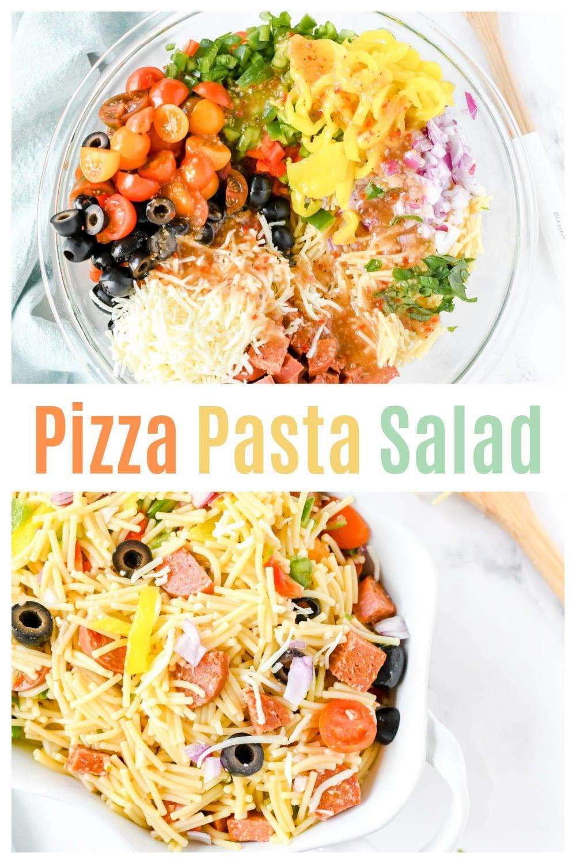 Easy Pizza Pasta Salad Recipe