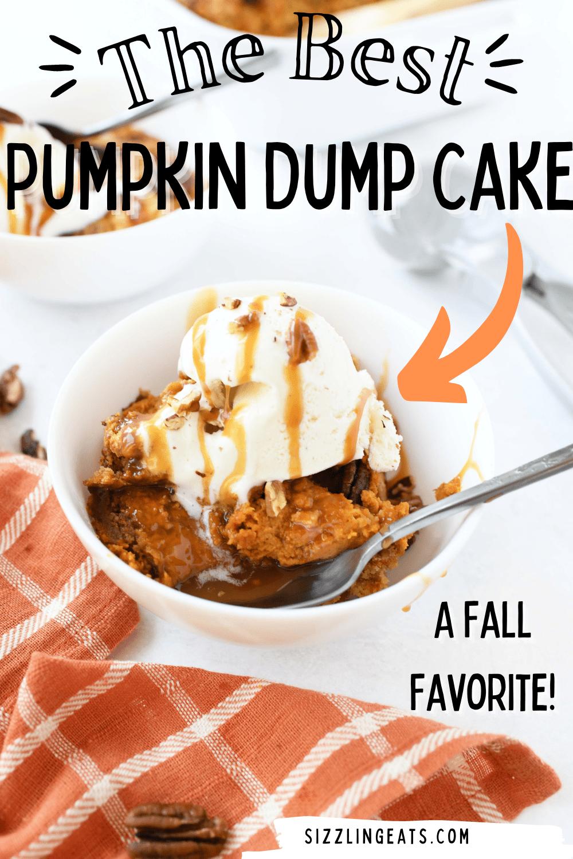 The BEST Pumpkin Dump Cake