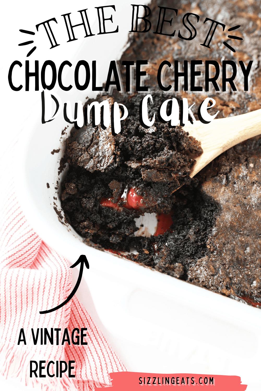 Rich Chocolate Cherry Dump Cake