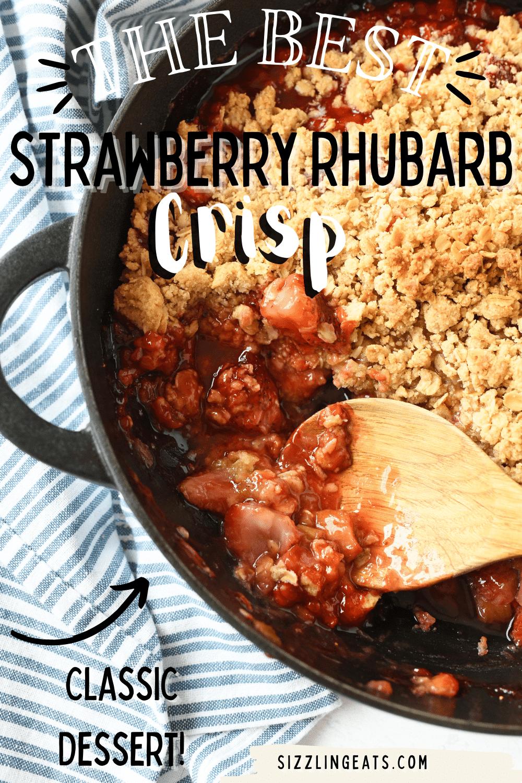 Classic Strawberry Rhubarb Crisp