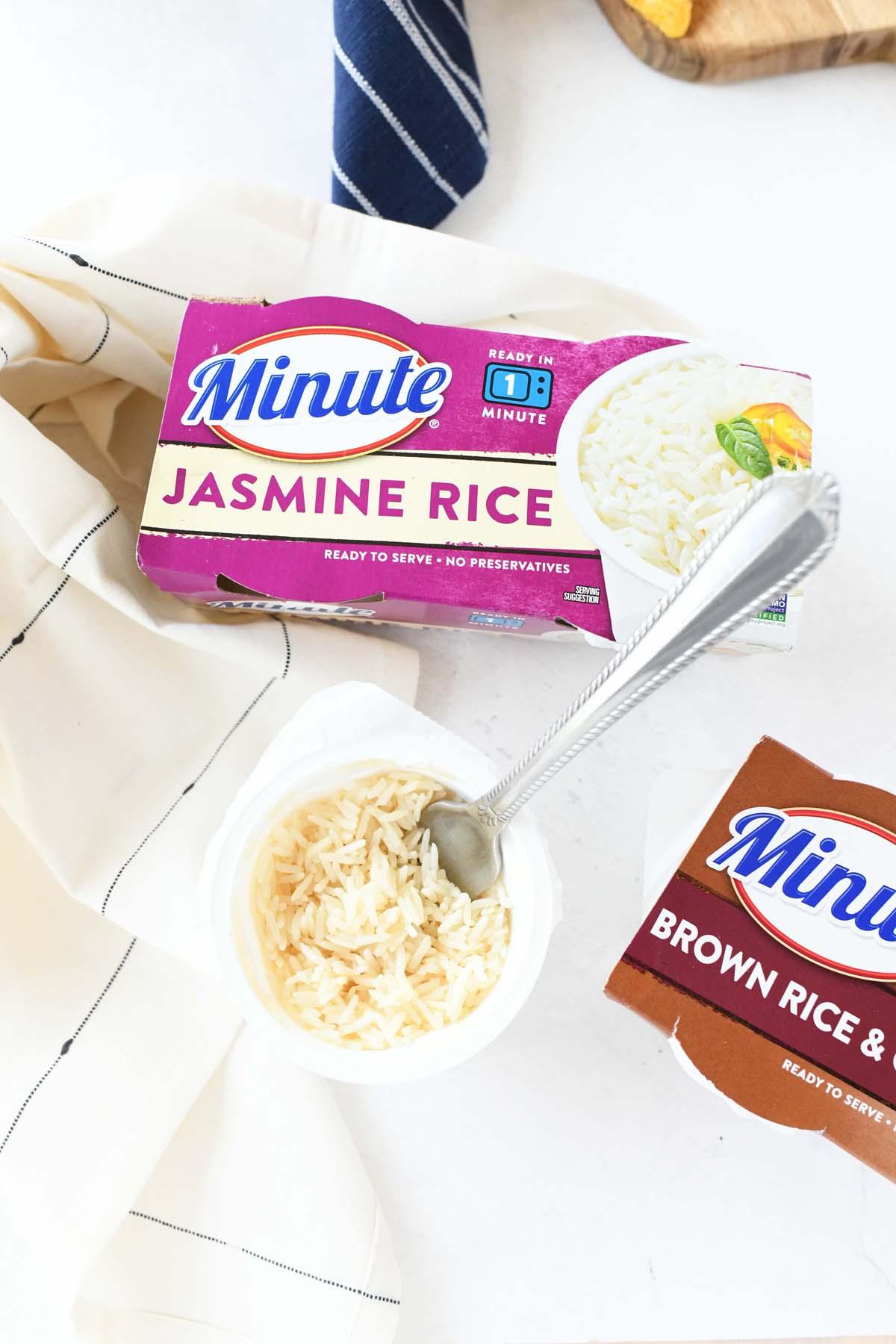 Minute Jasmine Rice cups