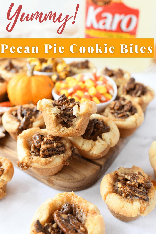 Pecan Pie Cookie Bites